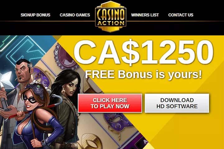 Casino Action awarded best online casino