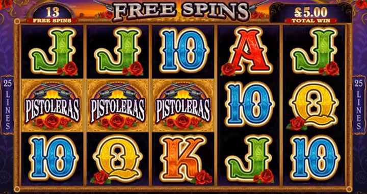 Free spins win the jackpot
