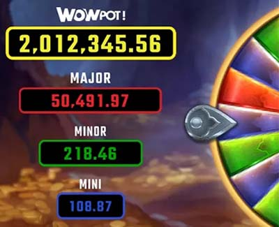 Bonus jackpot wheel symbols