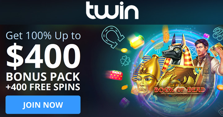 Spins at Twin.com