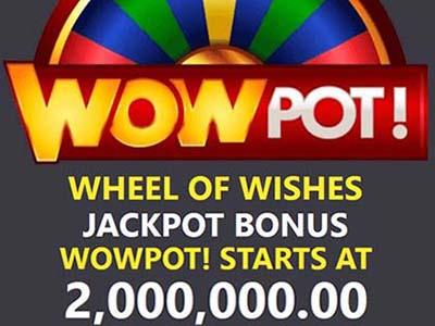 The WowPot of the slot machine