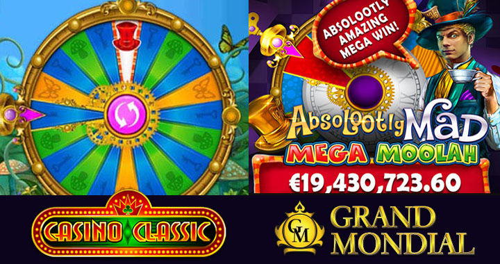 Absolootly Mad Mega Moolah's biggest jackpot win