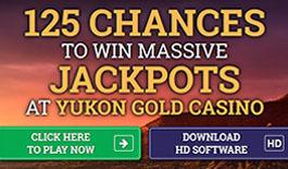 Yukon Gold 125 extra spins