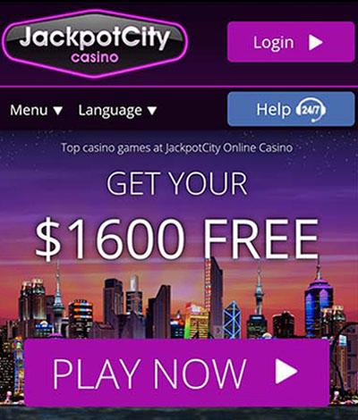 WowPot Jackpot City casino bonuses