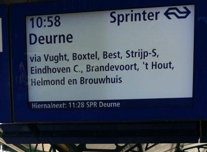 NS-trein naar Brabant - Fietsvakantie in eigen land - Ruben van Kempen