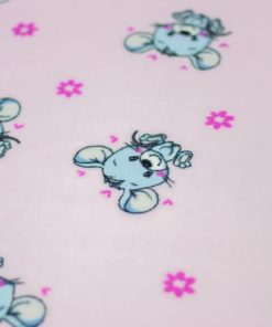Bollie Bed Mouse Party Pink