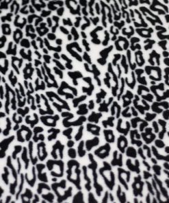 Bollie Bed White Leopard