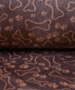 Bollie Bed Paws 'n' Bones Dark Brown