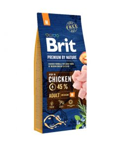 Brit Premium By Nature Adult M 15 kg