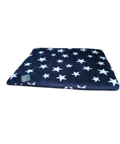 Bollie Bed White Stars on Black (maat 3)