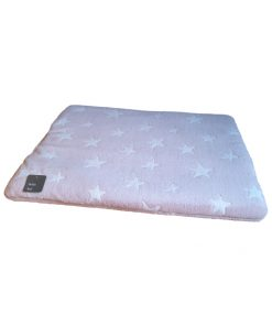 Bollie Bed White Stars on Pink (maat 3)