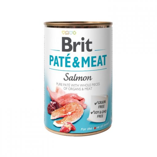 Brit Pate And Meat Salmon 400 g