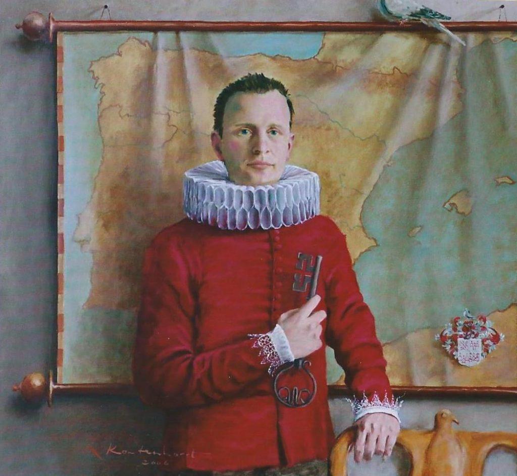 Familieportretten Gert Jan de Jong duif Leidens ontzet portretten in opdracht portret in opdracht schilderij