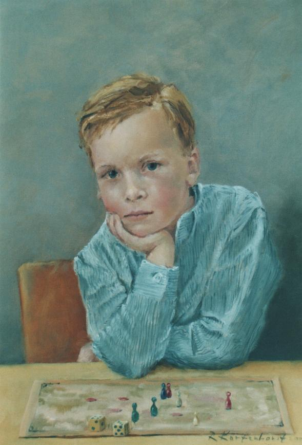 portretten in opdracht portret in opdracht schilderij portrait painter schilderij kunstenaar kunstschilder Rudolf Kortenhorst kunstschilder schilder