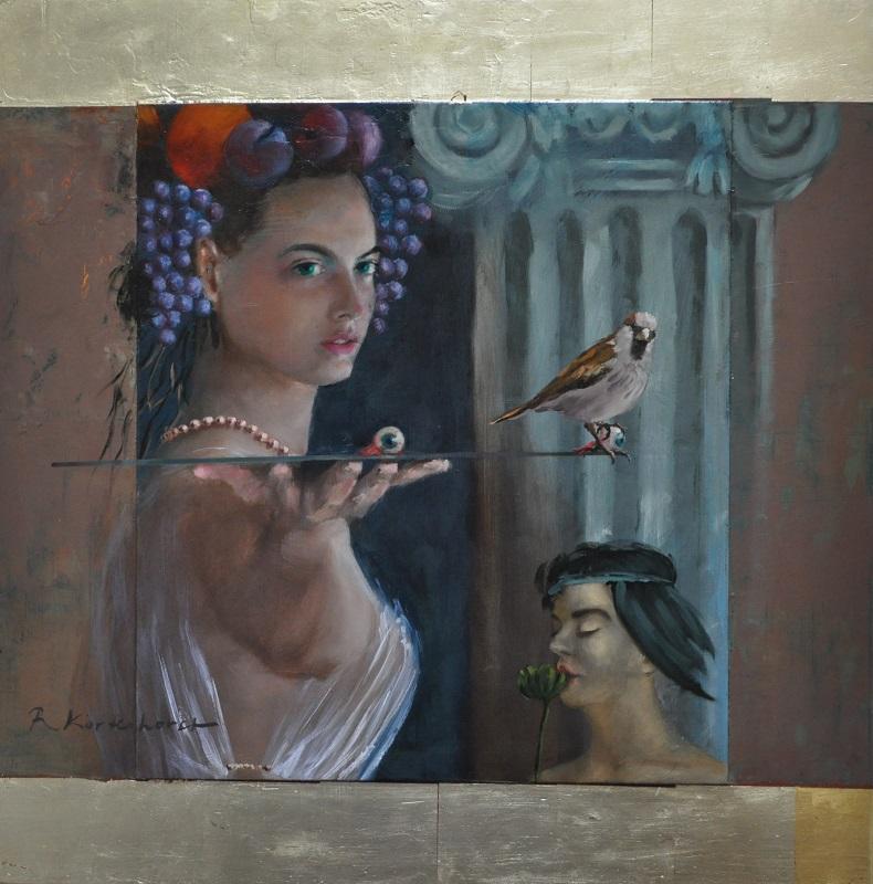 Rudolf Kortenhorst, klassiek schilderij, Anna Huisman, zuid Frankrijk,