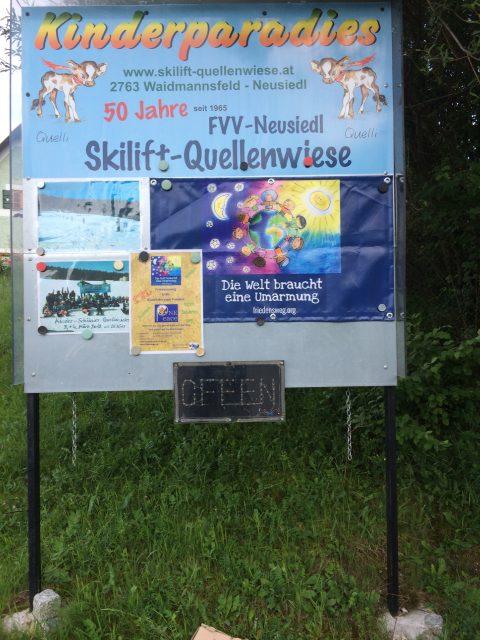 Friedensweg, Quellenwiese, Pernitz, Neusiedl