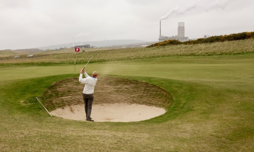 Bunker at the 10th