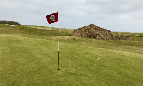 The 10th green