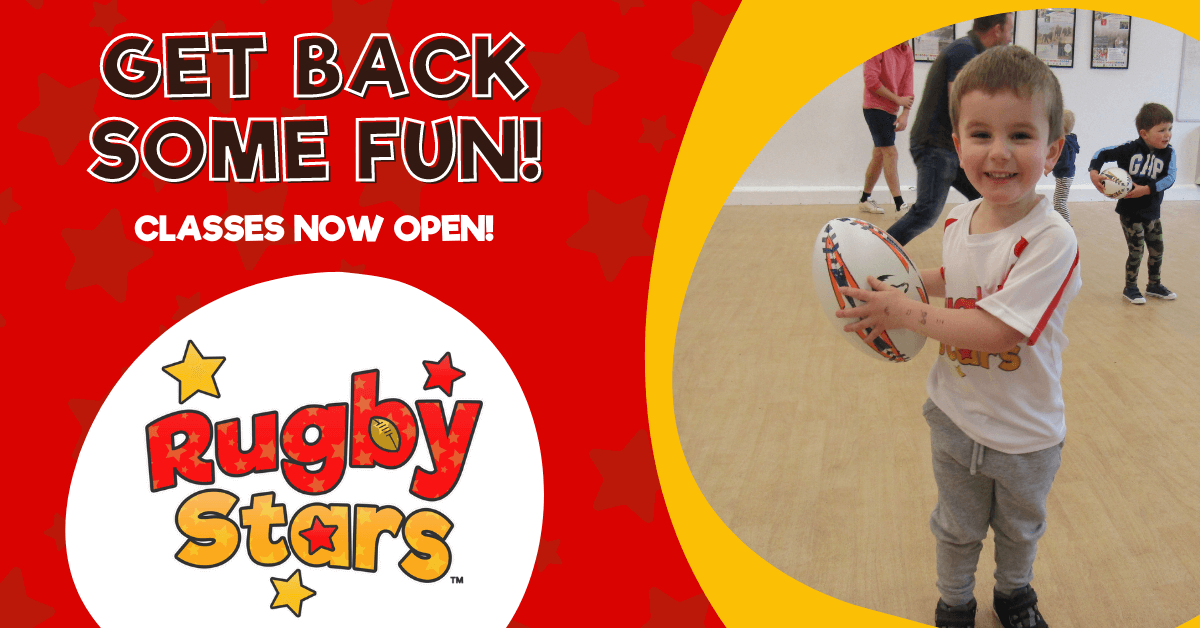 Rugby Stars - Rugby for Tots and Children aged 18 months to 6 years