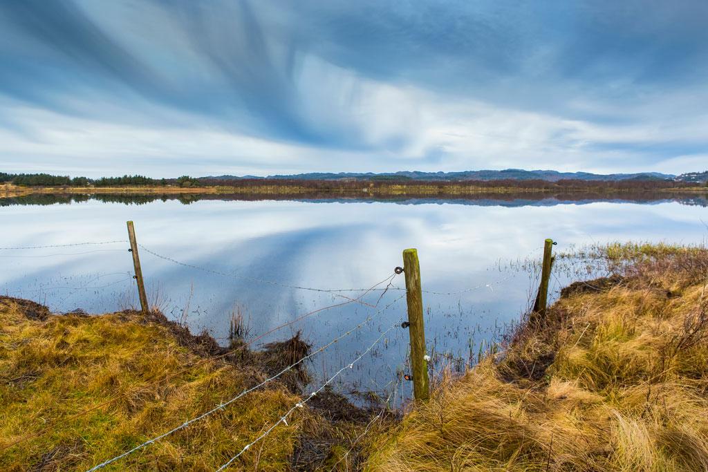 Tungtrafikk gjennom våtmarkssystem og naturreservat?