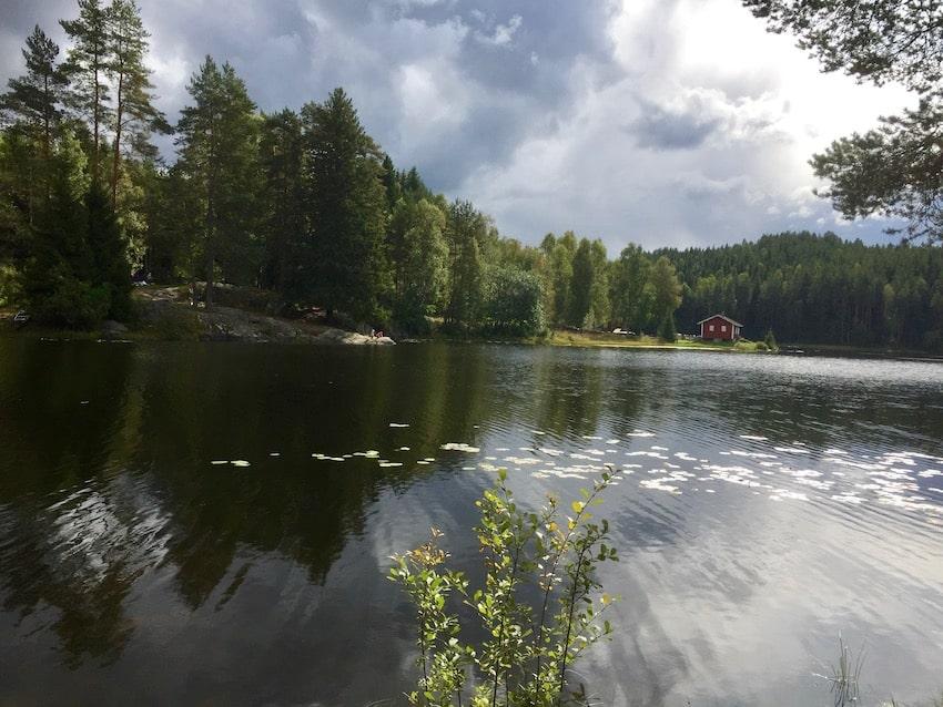 orientering i Losby, Finnland