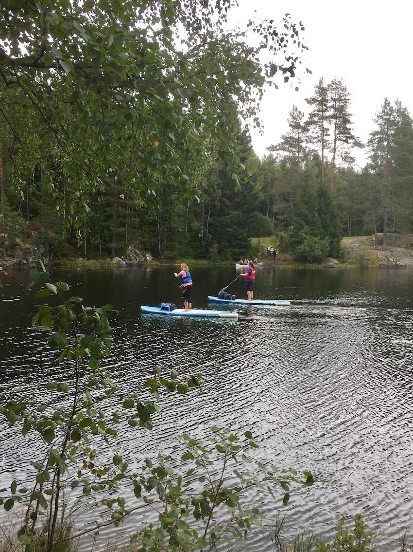 turorientering i Losbymarka