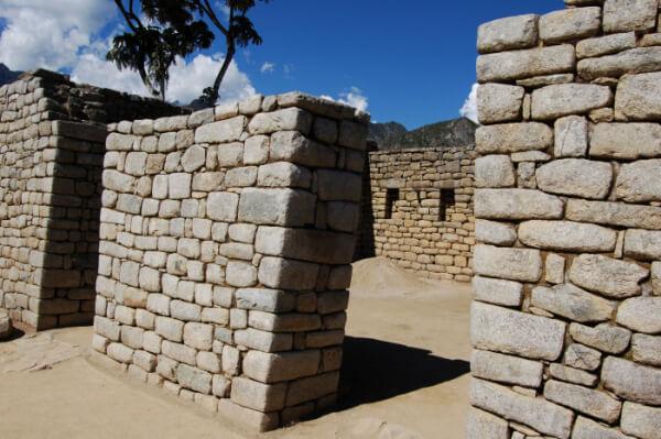 Machu Picchu - steinblokker
