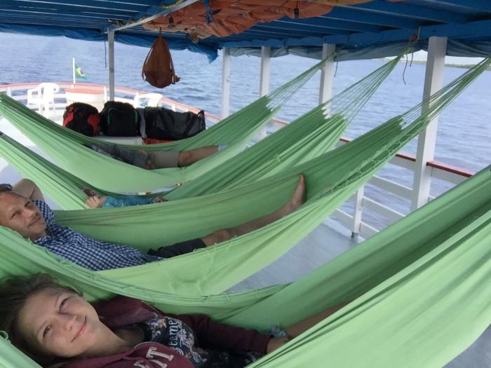 Hammocks og livet på amazonas-elven