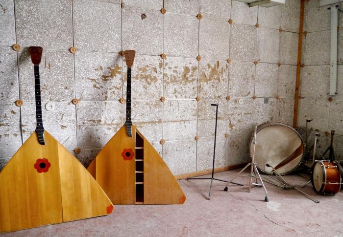 Musikkrommet, Pyramiden