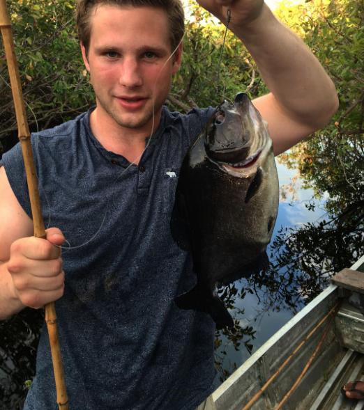 Pirayafisking i Amazonas