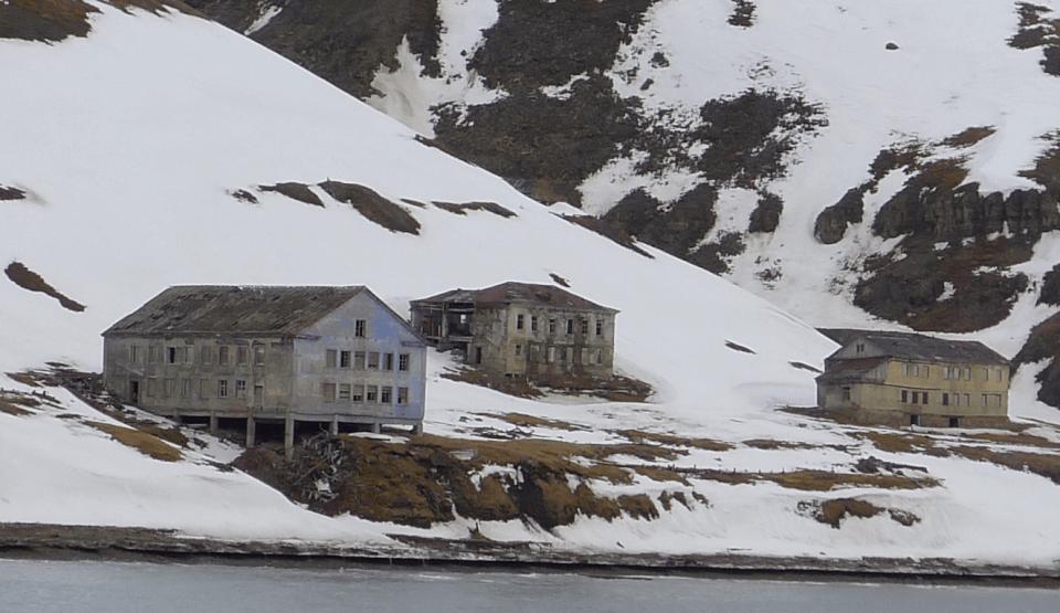 Svalbard, Grumant