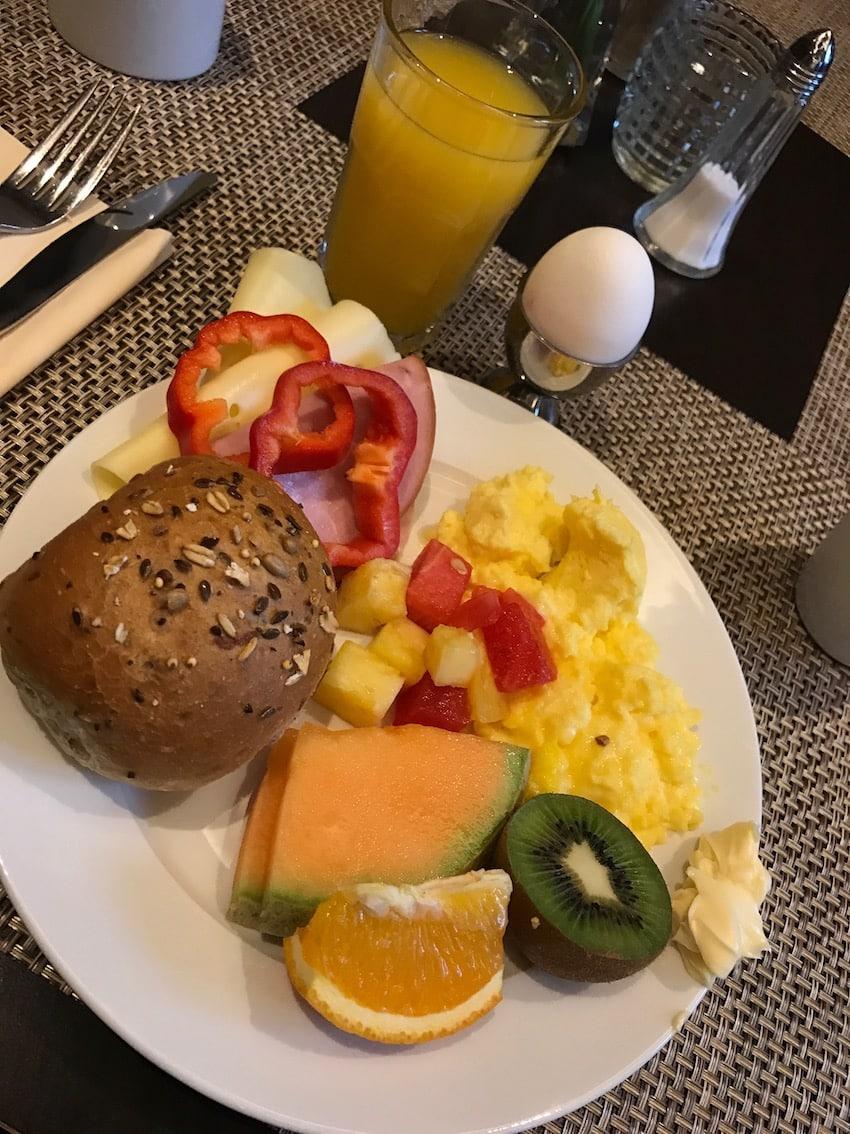 Sunn frokost, Clarion hotel Havnekontoret