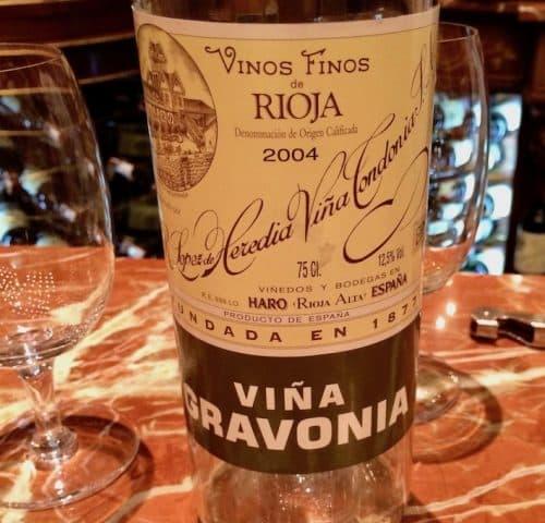 En hvit vin fra Vina Tondonia