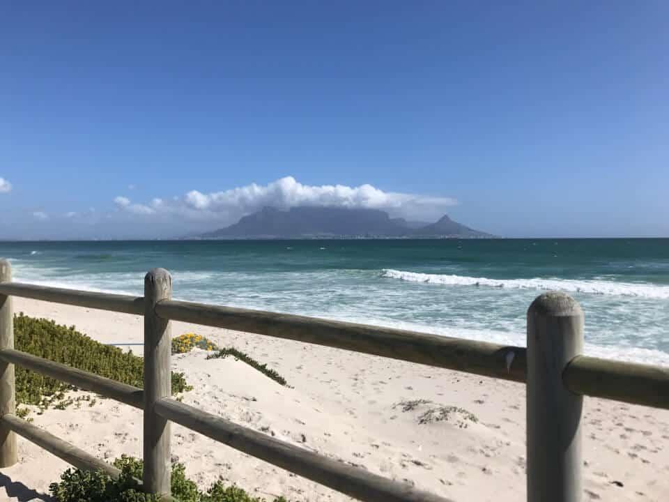 Table View, enestående utsikt over Table Mountain