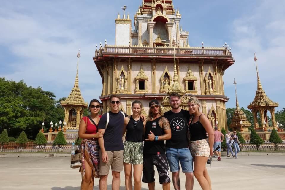Wat Chalong templet, Phuket