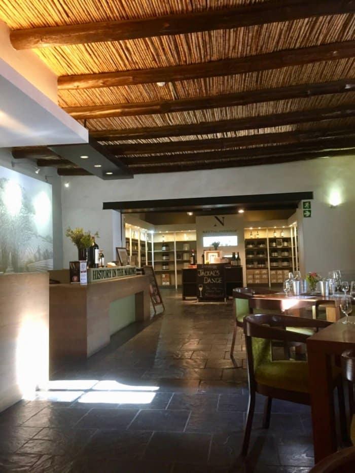 Neethlingshof, Stellenboch, vinsmaking på vingårder