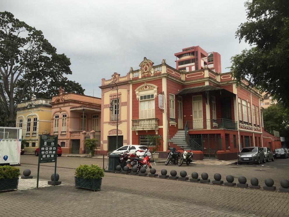 City center, Manus, Sør-Amerika