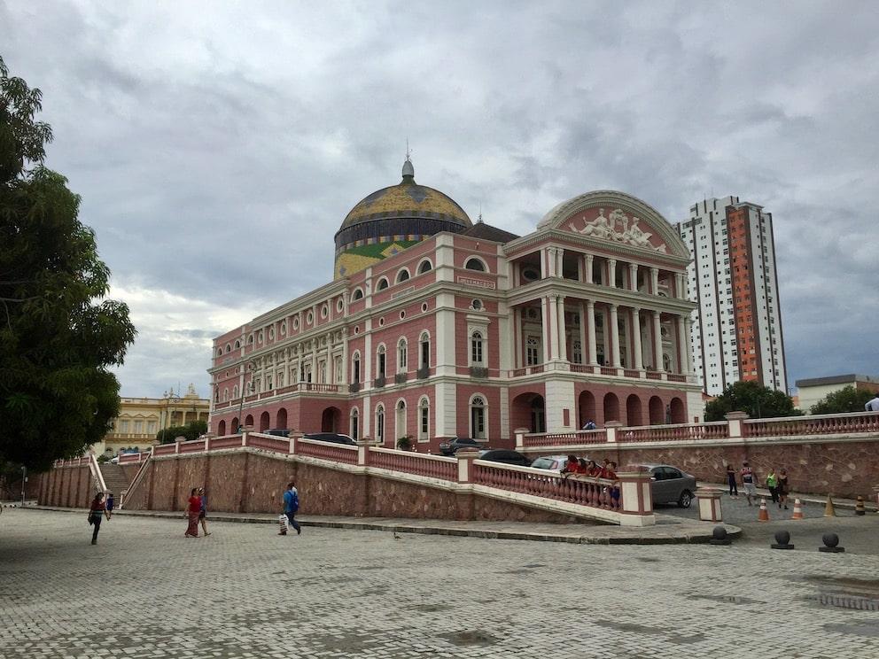 The Opera house, Manaus, Reiseguide til Sør-Amerika