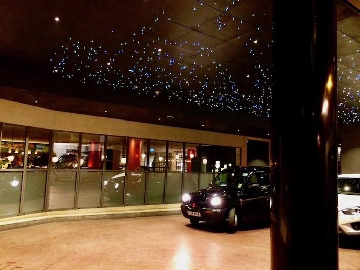 Inngangspartiet til Soho hotel