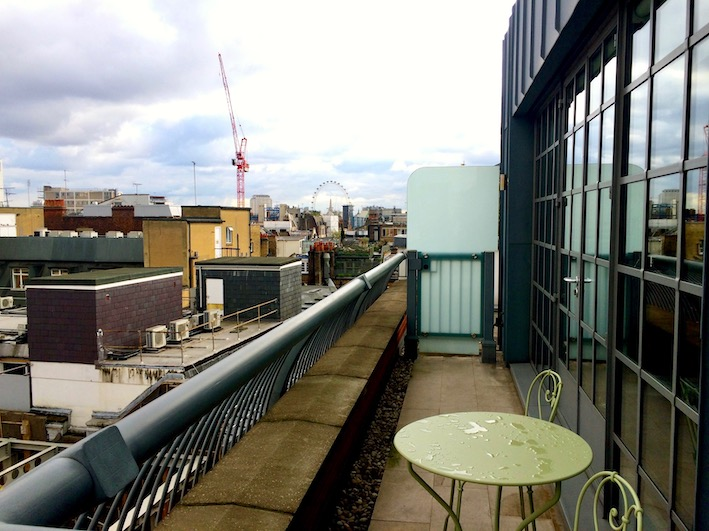 Deilig med balkong - Soho hotel