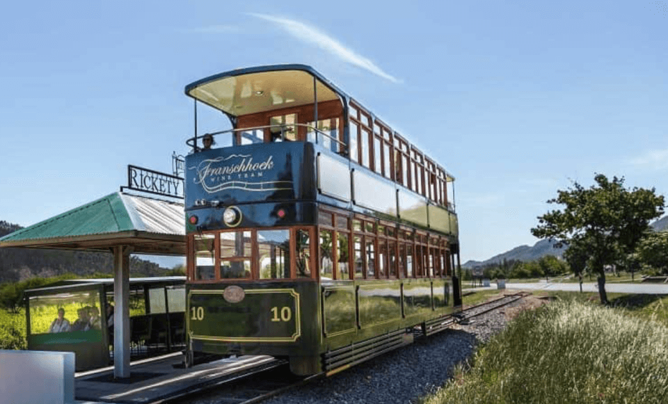 The Franschhoek Wine Tram hop-on hop-off tour iFranschhoek-dalen