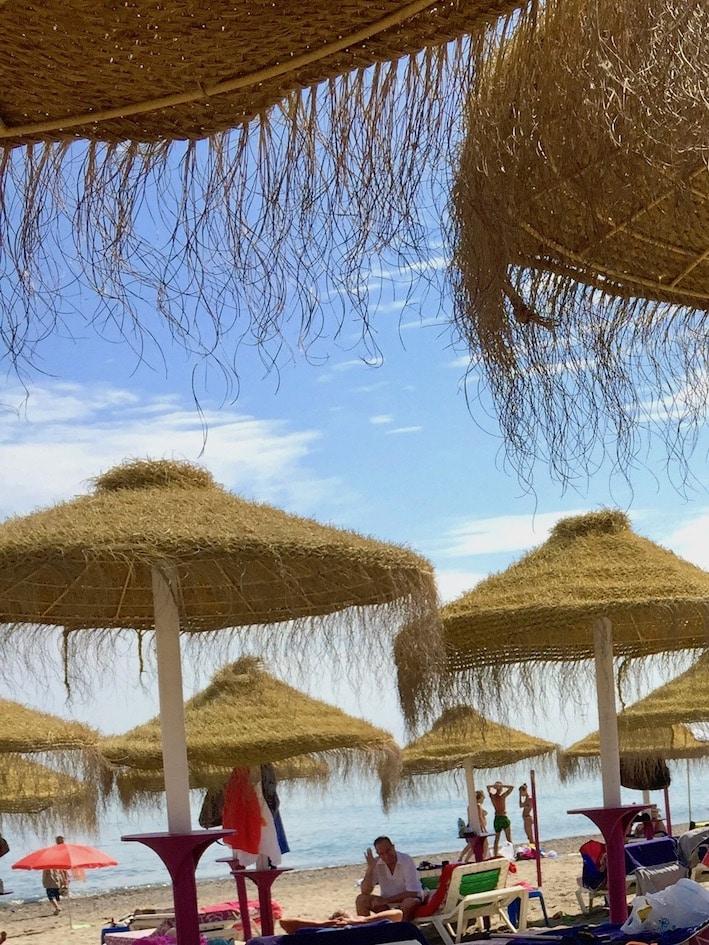 Torremolinos - strandpromenaden