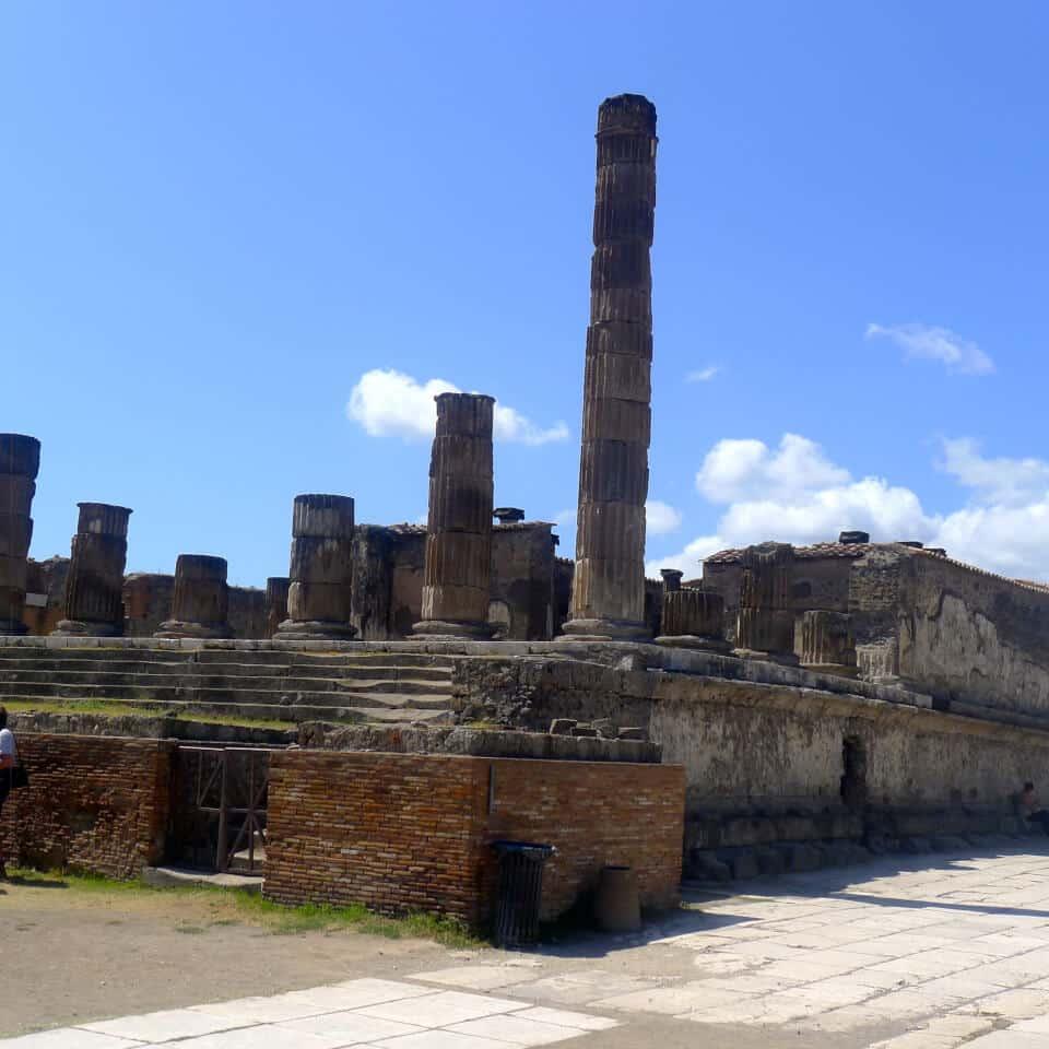 Bygninger i Pompei