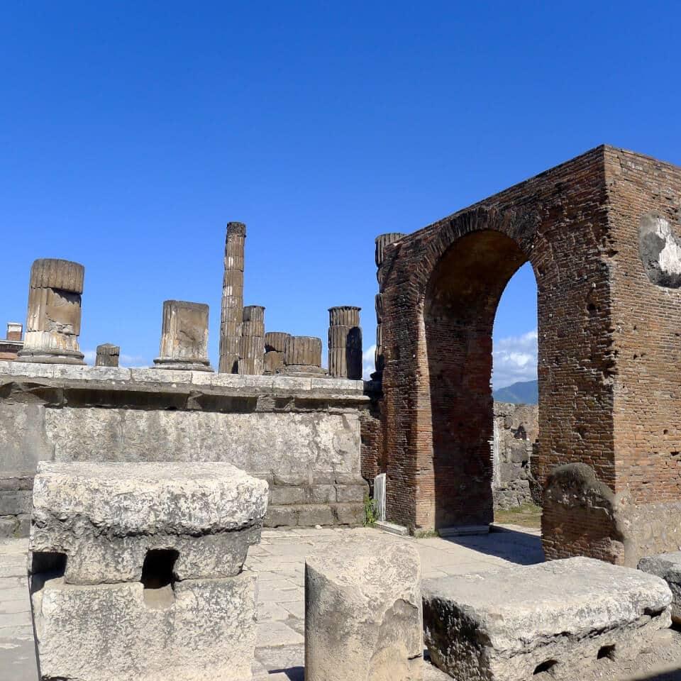 Bygningsmasse, Pompei