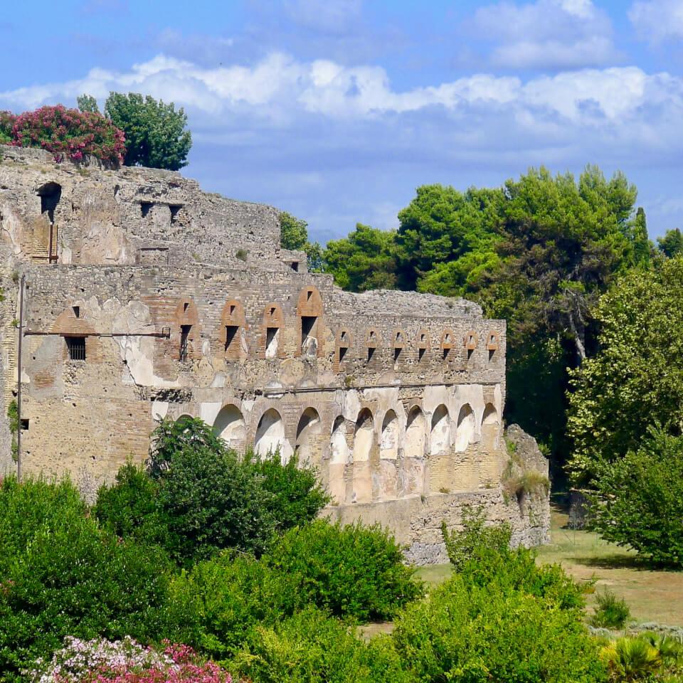 Bygning i Pompei