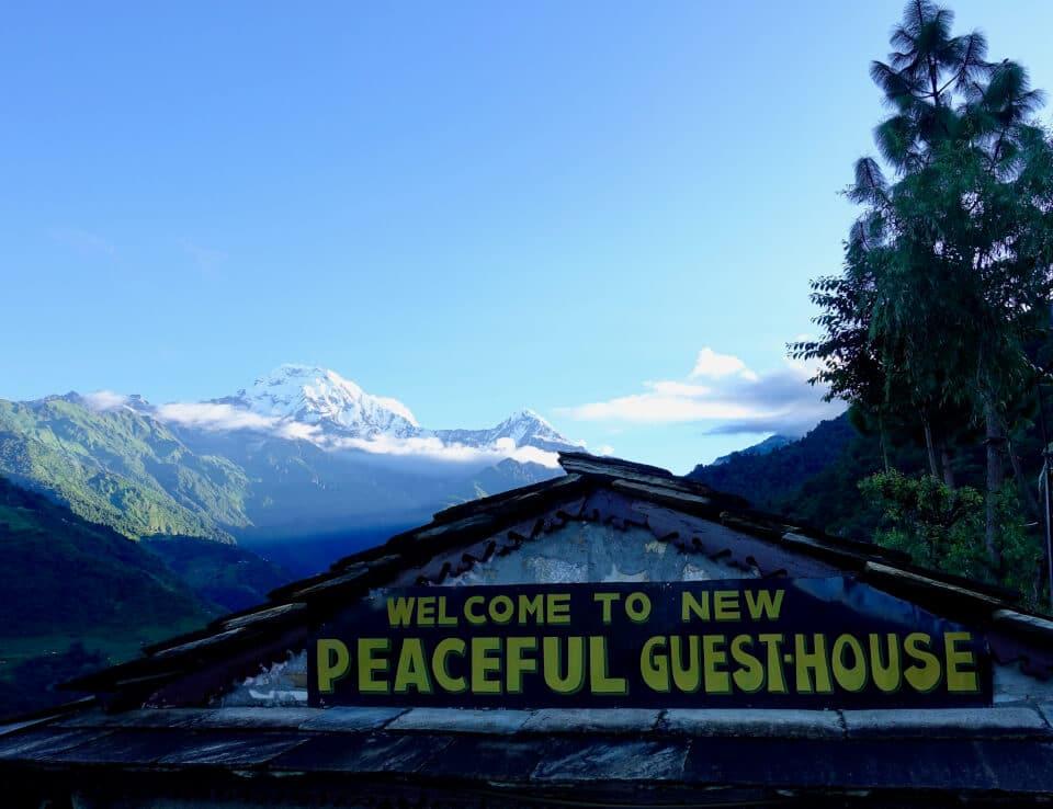 Overnatting, Ghandruk trek, Nepal