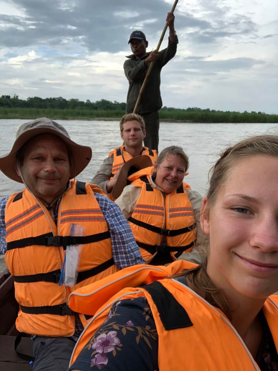 Båt-safari. Med Tigerland Safari Resort