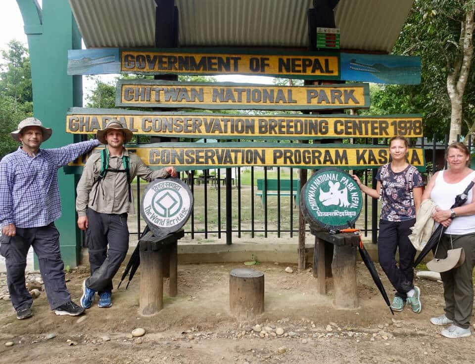 Gharial Breeding Centre, Nepal