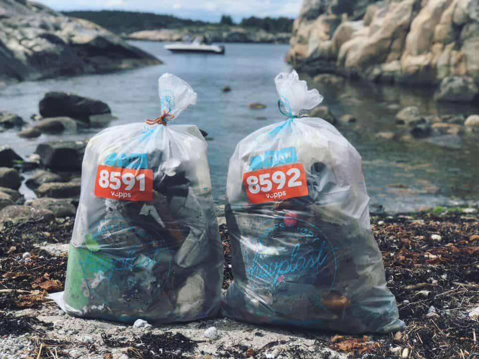 Plastsøppel i havet