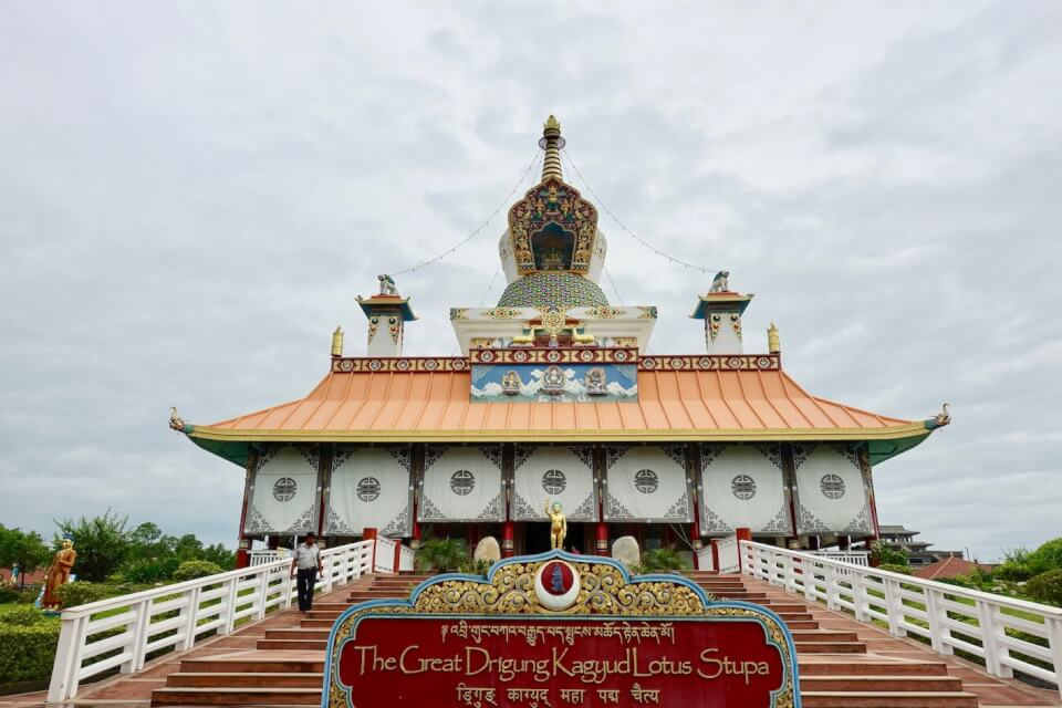 Great Lotus Stupa, Lumbini